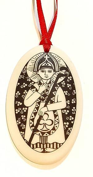 St. Patrick Ornament, Catholic, Religious, Patron Saint