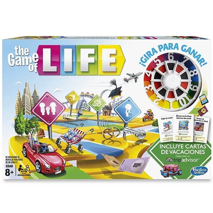 Hasbro Gaming Hasbro Game Of Life C0161105 Amazon Es Juguetes Y