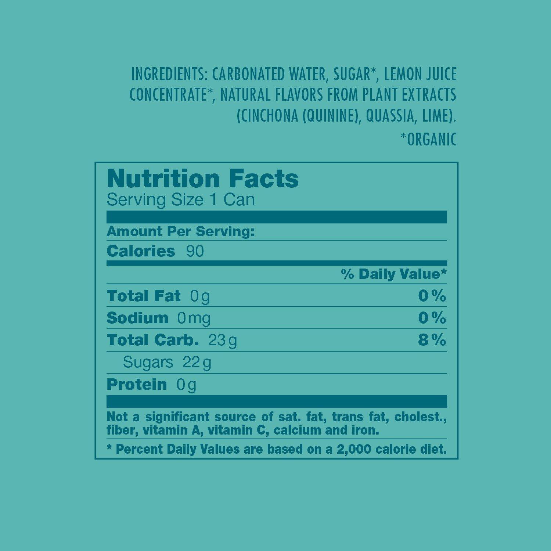 Amazon.com : Organics by Red Bull Tonic Water 24 Pack of 8.4 Fl Oz ...