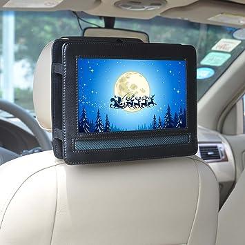 Soporte de coche, coche soporte para reposacabezas de coche para reproductor de DVD portátil de
