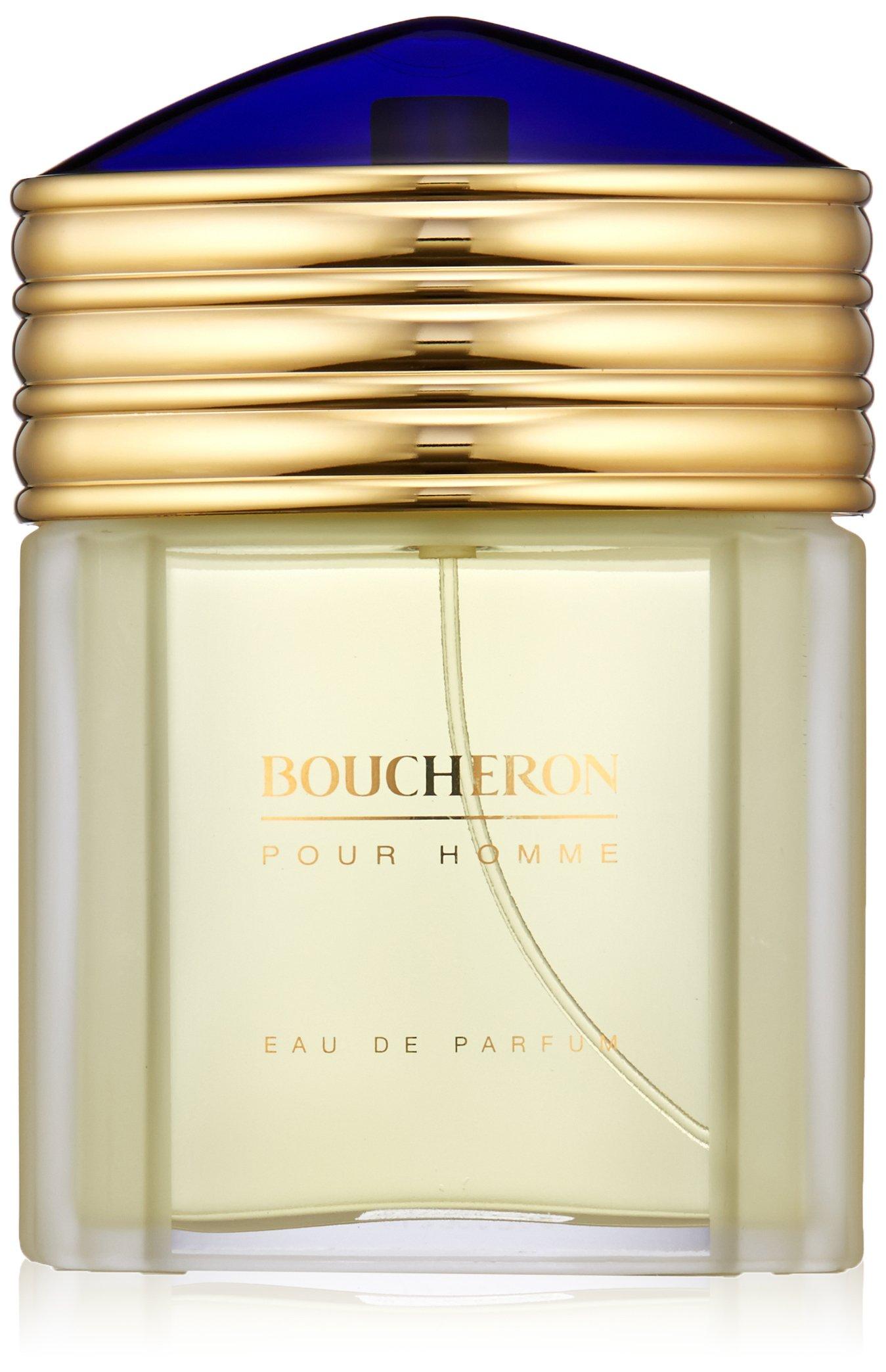 BOUCHERON Pour Homme Eau de Parfum, Woody Citrus, 3.3 fl. oz. by BOUCHERON