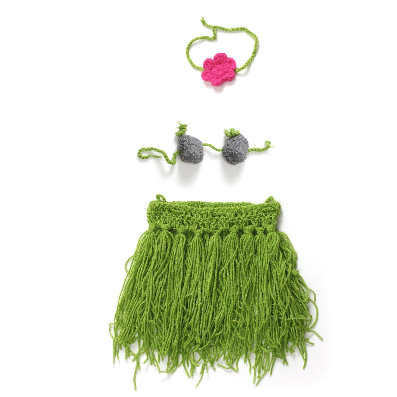 UGUAX - Falda de Ganchillo de Punto para recién Nacidos, Style 2 ...