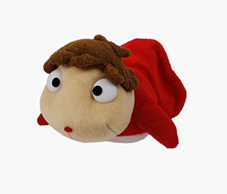 Amazoncom 8 Ponyo On The Cliff By The Sea Plush Doll Miyazaki