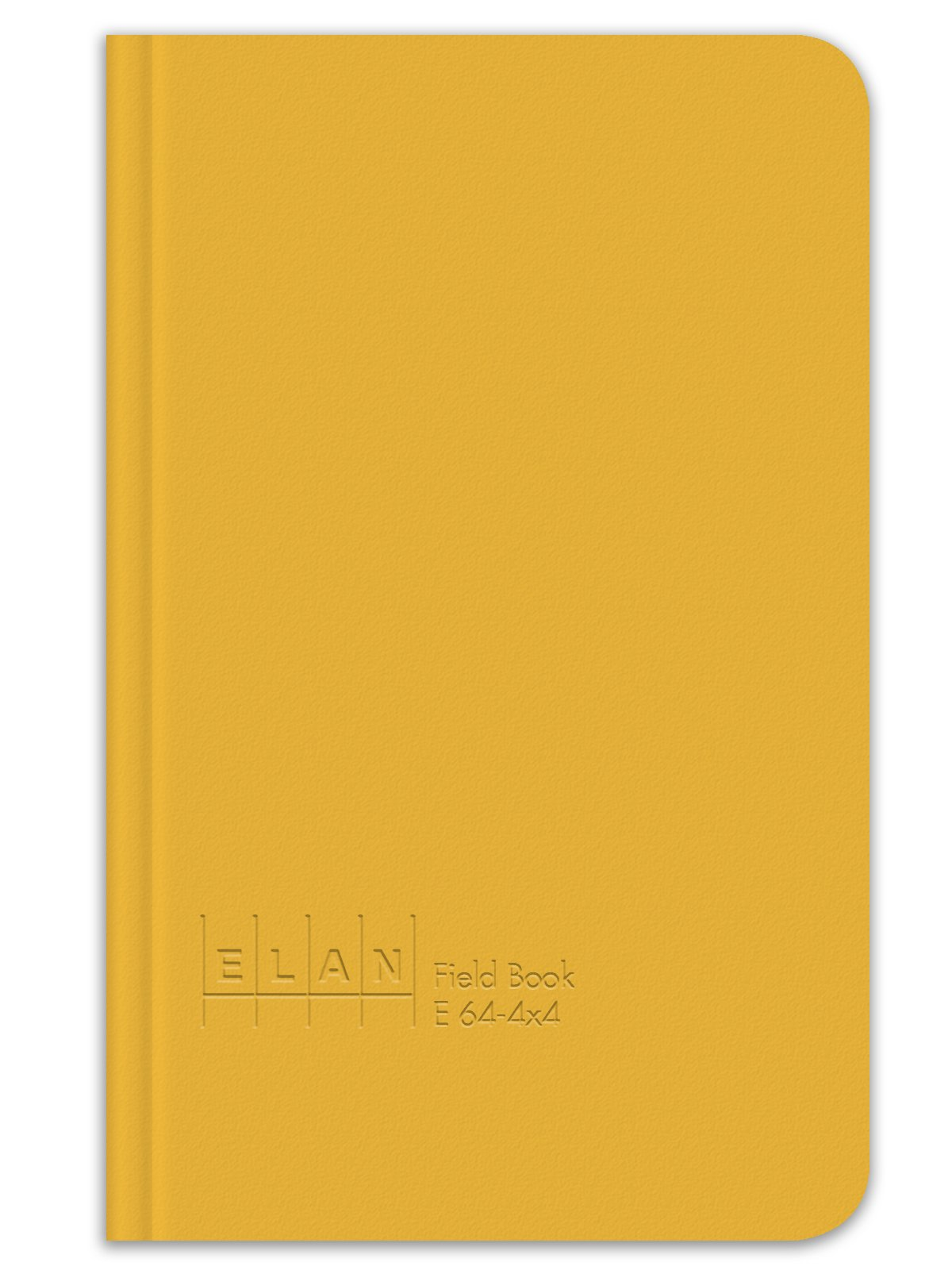 Elan Publishing Company E64-4x4 Field Surveying Book 4 ⅝ x 7 ¼, Yellow Cover (Pack of 6) by Elan Publishing Company