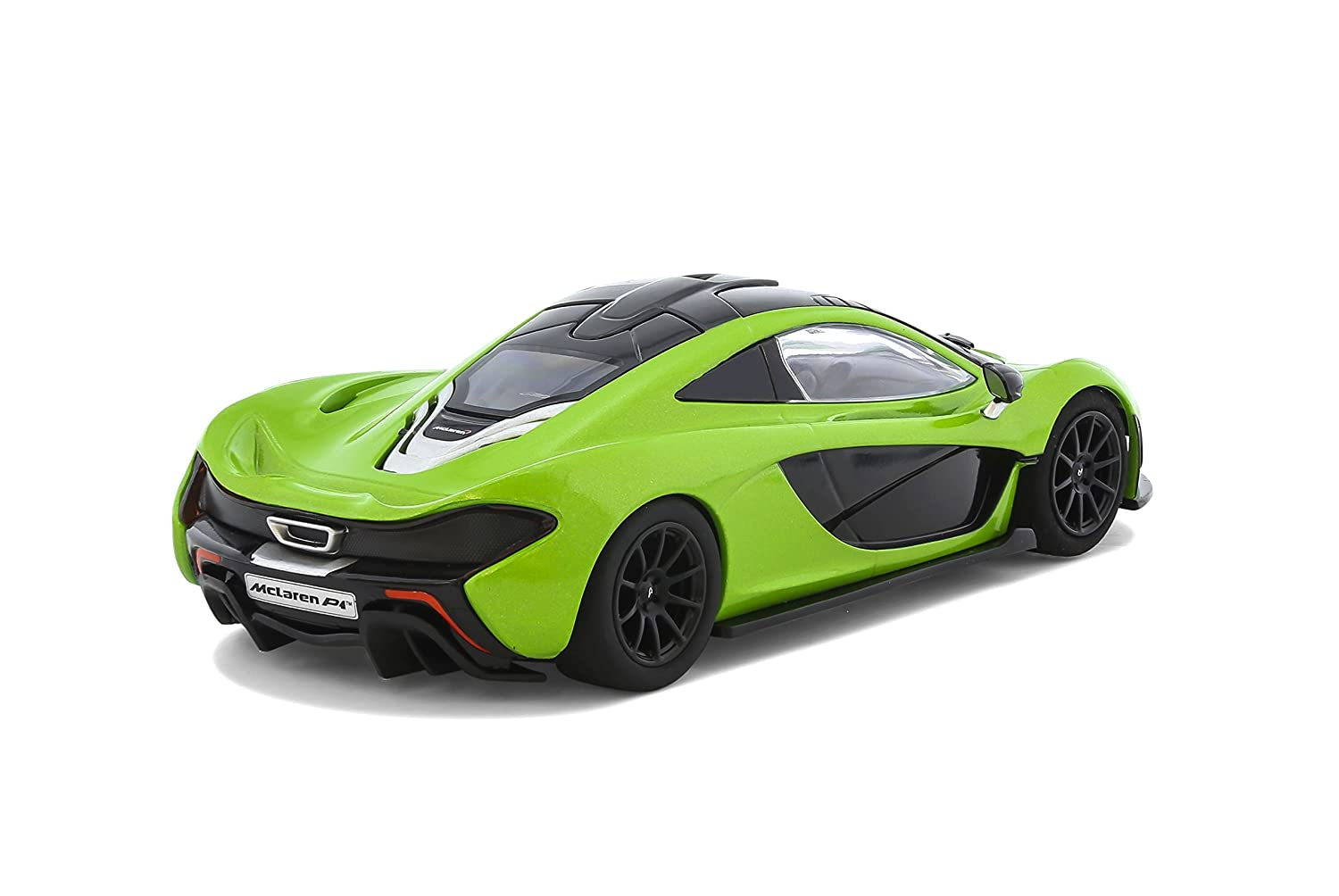 Beautiful Amazon.com: Scalextric C3756 McLaren P1 Lime Green Slot Car (1:32 Scale):  Toys U0026 Games
