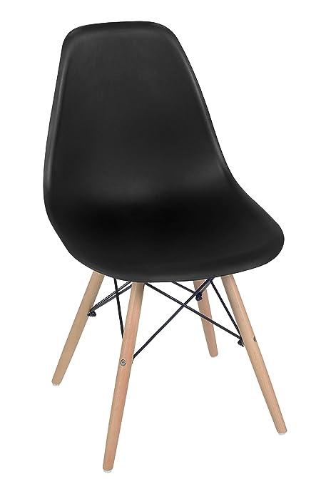 Pleasing Amazon Com Regency 4818Bkbh Cassini Mid Century Modern Alphanode Cool Chair Designs And Ideas Alphanodeonline