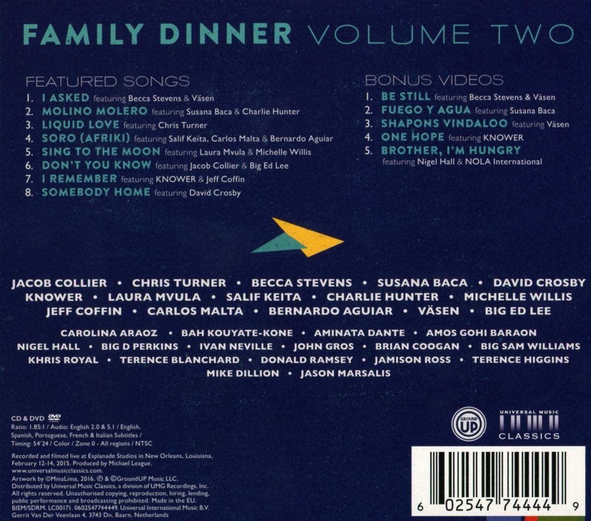 Family Dinner Volume Two - Snarky Puppy: Amazon.de: Musik