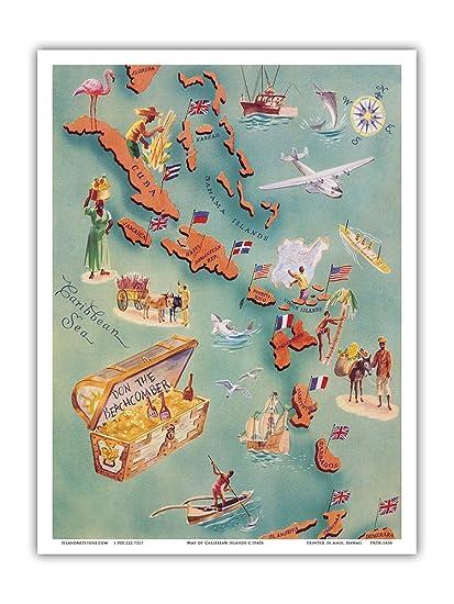 Virgin island artwork from 1951 opinion