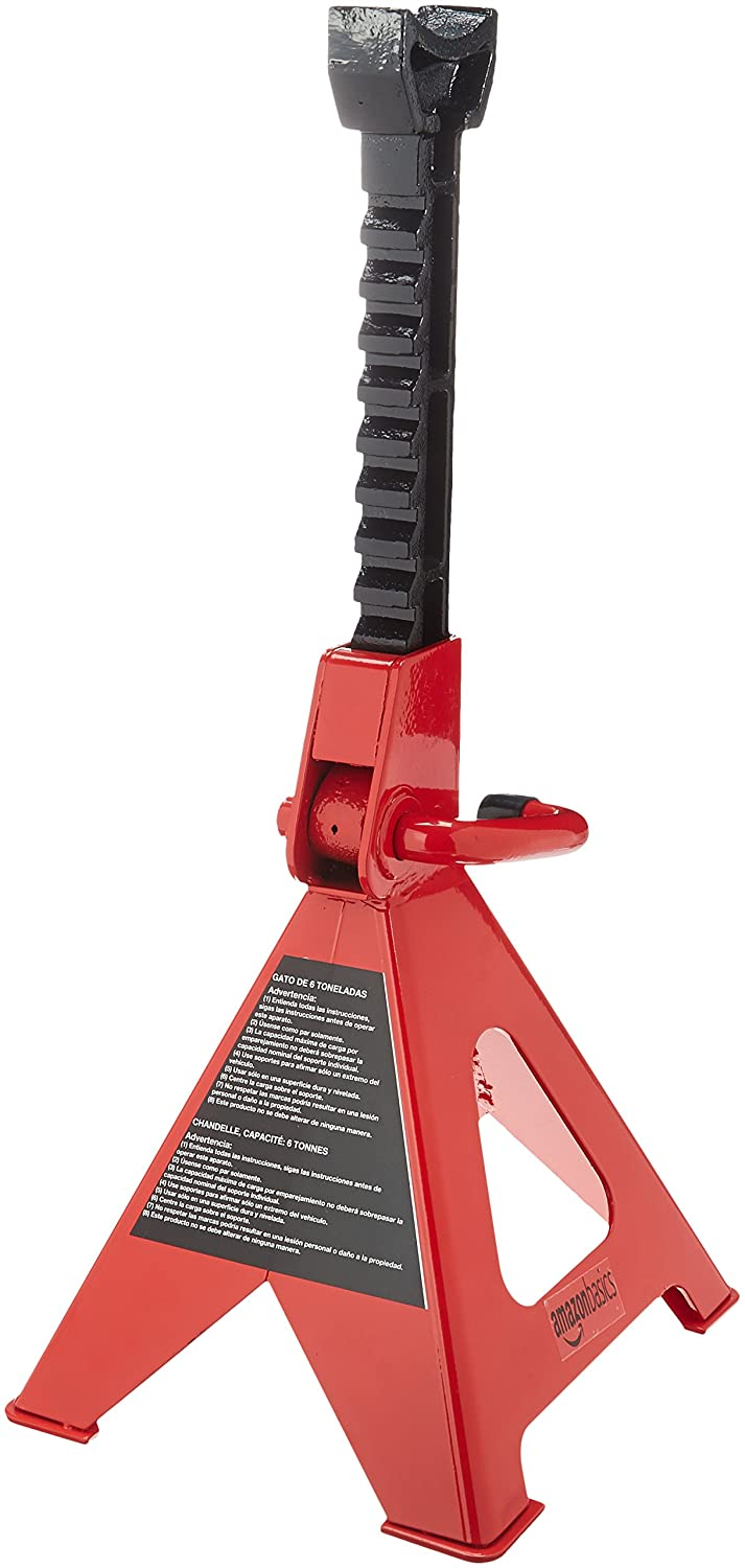 Basics Steel Jack Stands with 3 Ton Capacity 1 Pair
