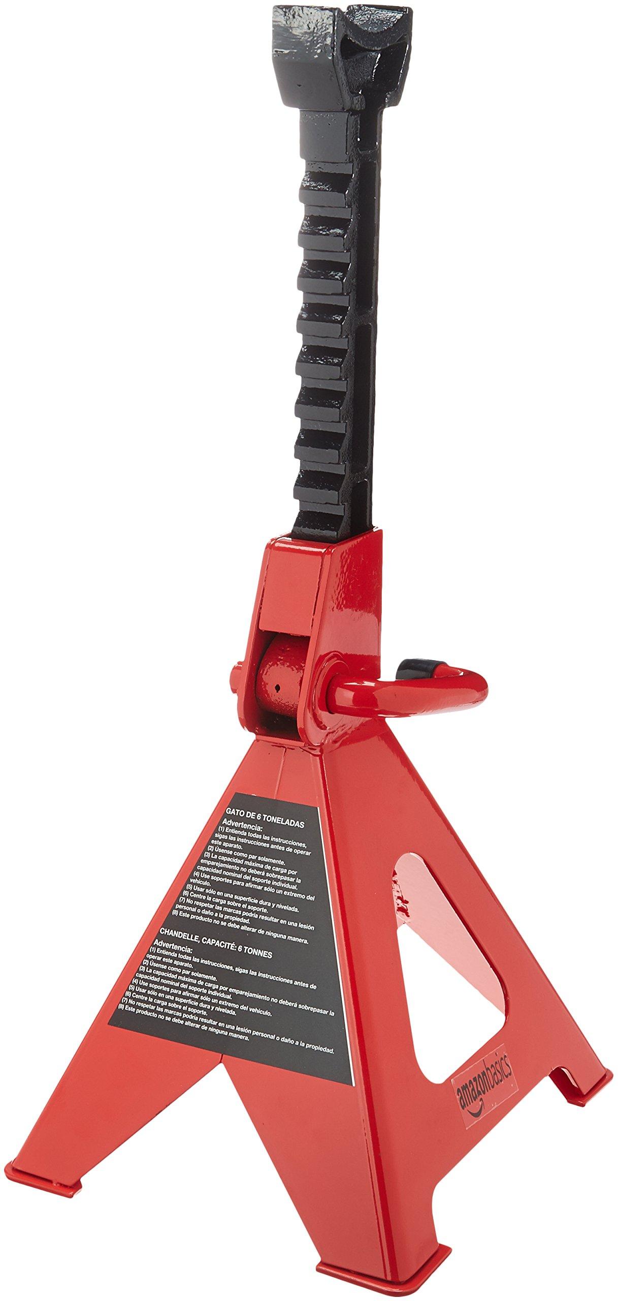 AmazonBasics SW-STJK06 Steel Jack Stands, 6 Ton Capacity - 1 Pair by AmazonBasics (Image #3)