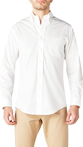 Brooks Brothers Dress Non-Iron Botton Down Regent - Camisa para hombre: Amazon.es: Ropa y accesorios
