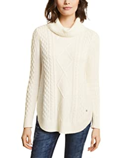 Street Bottom Donna One Pullover Cable Curved With Maglione rwpr4qx