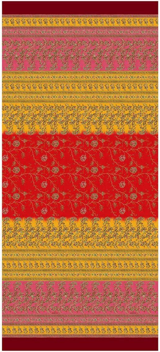 Bassetti MONTEFANO - Foulard (algodón, 270 x 270 cm), Color Rojo ...