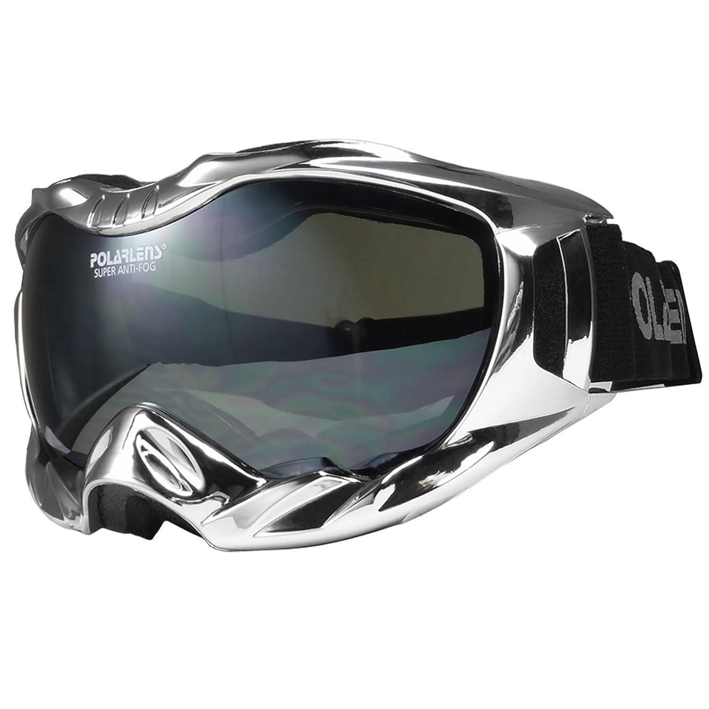 POLARLENS SERIES PG35-01 Skibrille   Snowboardbrille Snowboardbrille Snowboardbrille   Sportbrille verchromt + Microfaser-Tasche mit Putztuch-Funktion   B009R586CI Skibrillen Verpackungsvielfalt 6dbfe8