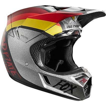 Fox V3 Helmet >> Amazon Com Fox Racing Rodka Le Men S V3 Mx Motorcycle Helmets