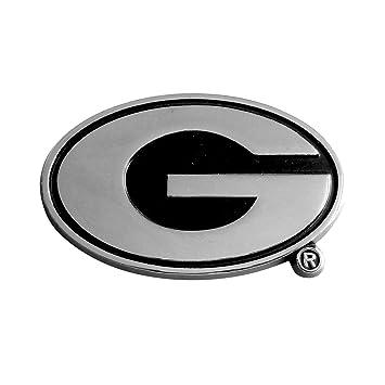Amazon Fanmats Ncaa University Of Georgia Bulldogs Chrome Team