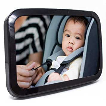 Baby Safety & Health Baby Baby Back Seat Mirror View Rear Facing Infant In Backseat~crash Tested Best Elegant Shape