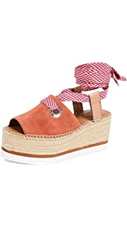 0583616a1ff4 Amazon.com  See by Chloe Women s Glyn Flat Espadrilles  Shoes