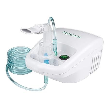 Medisana IN 500 Inhalator/Vernebler mit extra langem Schlauch (2m) - Inhalation bei Erkältungen oder Asthma - mit umfangreich