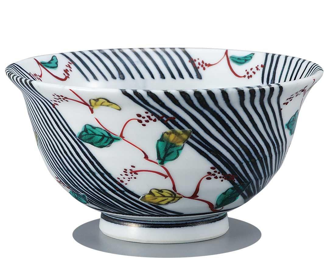 Japanese Rice Bowl Tokusa KUTANI YAKI(ware)
