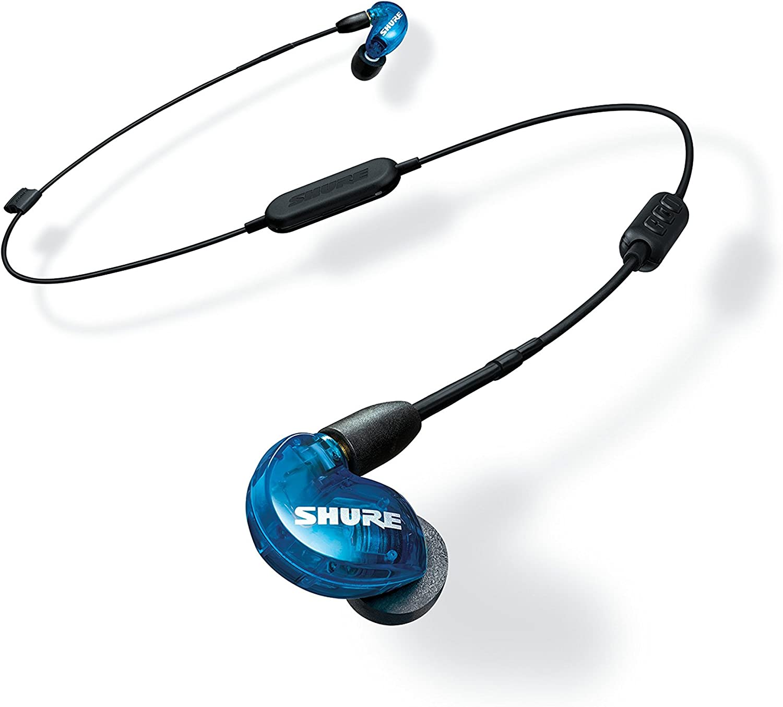 Shure SE215SPE-B-BT1-EFS - Auriculares inalámbricos con aislamiento de sonido