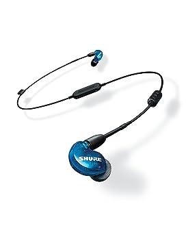 Shure SE215SPE-B-BT1-EFS - Auriculares inalámbricos con aislamiento de sonido: Amazon.es: Instrumentos musicales