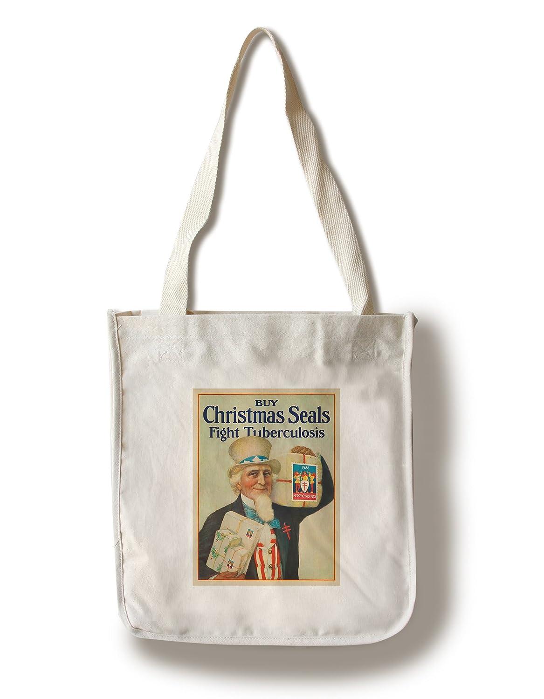 Chrismas sealsヴィンテージポスターC。1926 Canvas Tote Bag LANT-63856-TT B01841Q2S0  Canvas Tote Bag