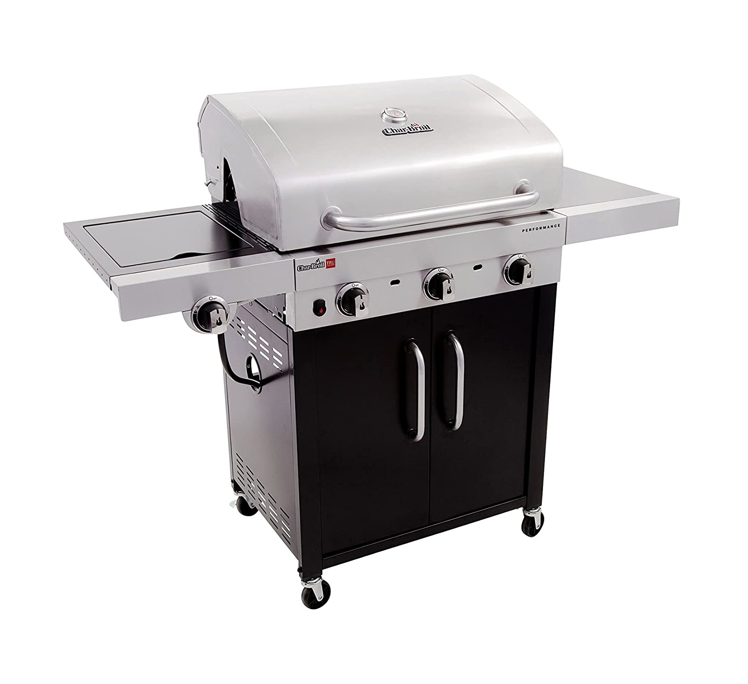Amazon.com : Char-Broil Performance TRU-Infrared 450 3-Burner Cabinet  Liquid Propane Gas Grill : Garden & Outdoor