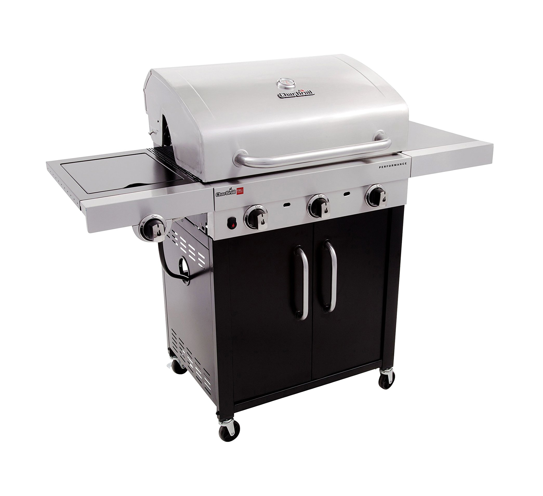 Char-Broil Performance TRU-Infrared 450 3-Burner Cabinet Liquid Propane Gas Grill by Char-Broil