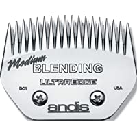 Andis Carbon-Infused Steel UltraEdge Blending Dog Clipper Blade, Medium, 1/16-Inch Cut Length (64330)