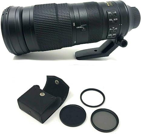 Objetivo AF-S NIKKOR 200-500mm f/5.6E ED VR Lente de la cámara ...