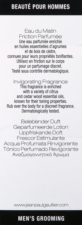 jean paul gaultier monsier friction parfume eau du matin 100ml