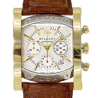 9e9ffb0fc6 ブルガリ BVLGARI アショーマ AA48SG CH クロノグラフ メンズ 腕時計 コンビ K18YG 自動巻き オートマ ウォッチ 【