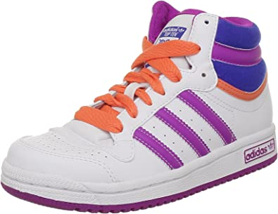 Adidas Originals Topten Hi K, Zapatillas para Niñas, White FTW ...
