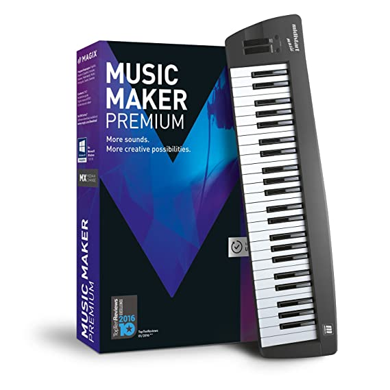 Music Maker – 2017 Control Edition – USB keyboard and music software