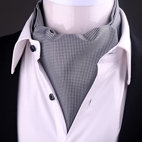 LIANGJUN Corbata Elegante de Seda para Hombre, Bufanda de ...