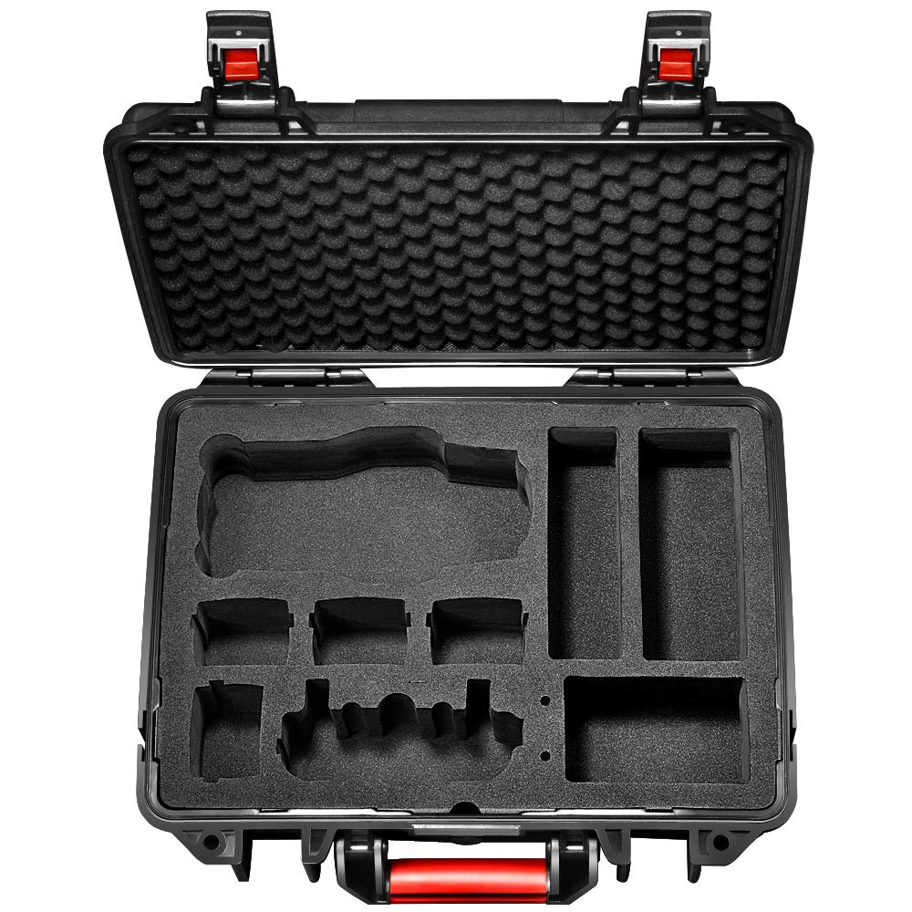 Lekufee DJI Mavic Pro 2 Case,Professional Carrying Case Compatible for DJI Mavic 2 Pro/Zoom and More Accessories by Lekufee (Image #2)
