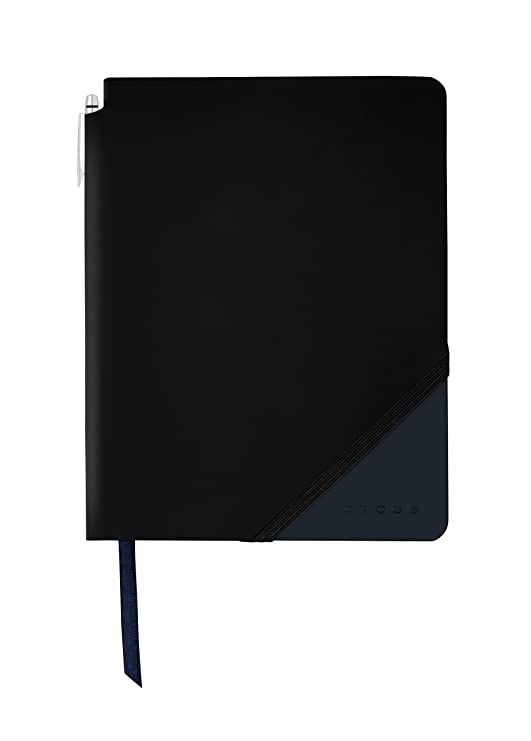Cross Jot Zone Journal, Black & Gray, Large -Lined (AC273-5L)