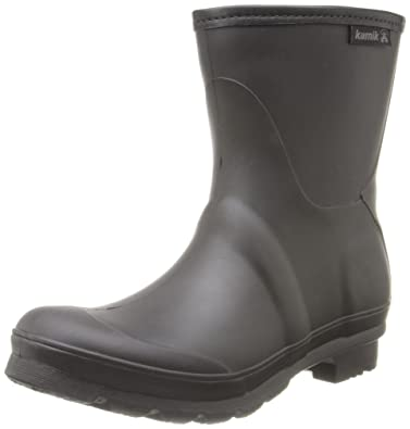 Amazon.com | Kamik Women's Jenny Ankle Rain Boot | Rain Footwear