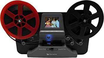 Wolverine 8mm and Super 8 Film Reel Converter Scanner to Convert Film into Digital Videos.
