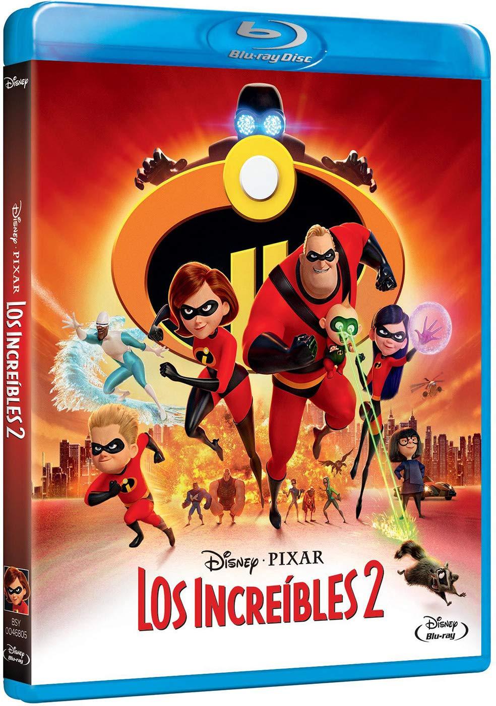 Pixar Los Increibles 2 [Blu-ray]: Amazon.es: Personajes Animados ...