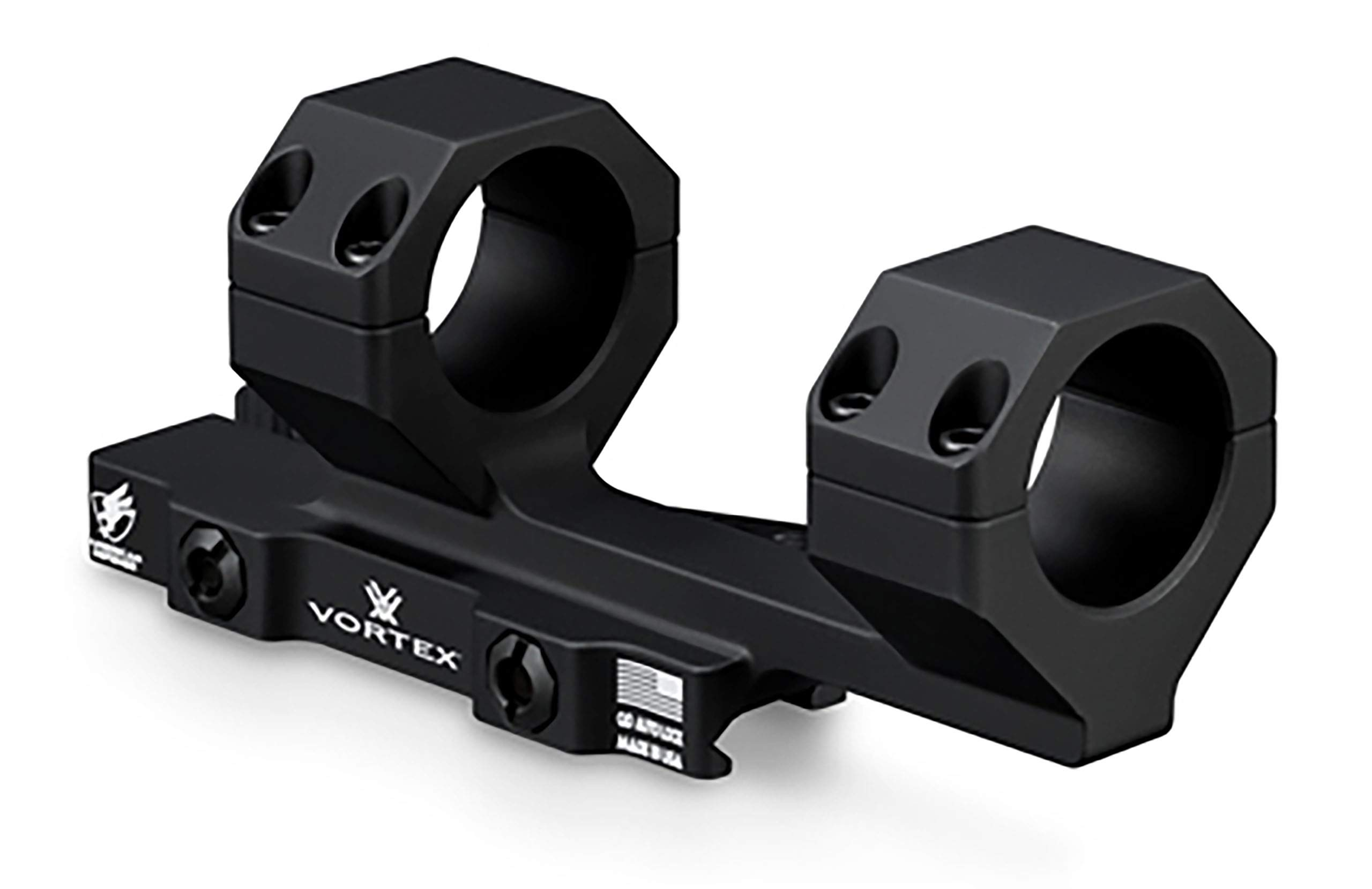 Vortex Optics Precision Quick-Release Extended Cantilever 30mm Riflescope Mount - 2-Inch Offset by Vortex Optics