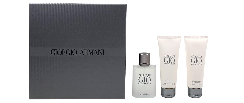 Giorgio Armani Acqua Di Gio regalo Set Homme/Men, Eau de Toilette ...
