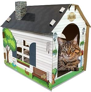 ASPCA Cat Scratching Pads, Bonus Catnip Included, Corrugated Cardboard, Reversible, Variety of Sizes & Colors