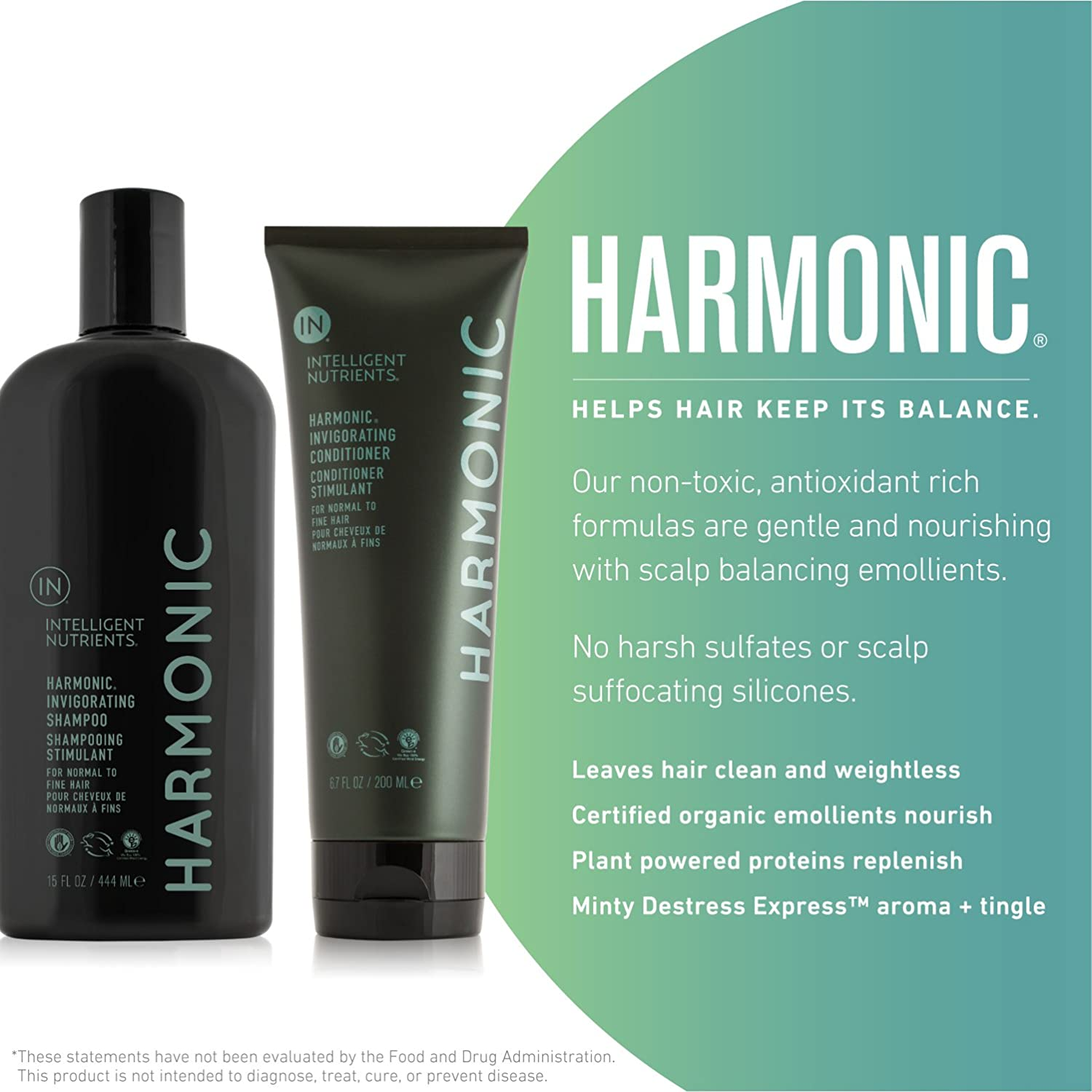 Amazon Com Intelligent Nutrients Harmonic Invigorating Shampoo