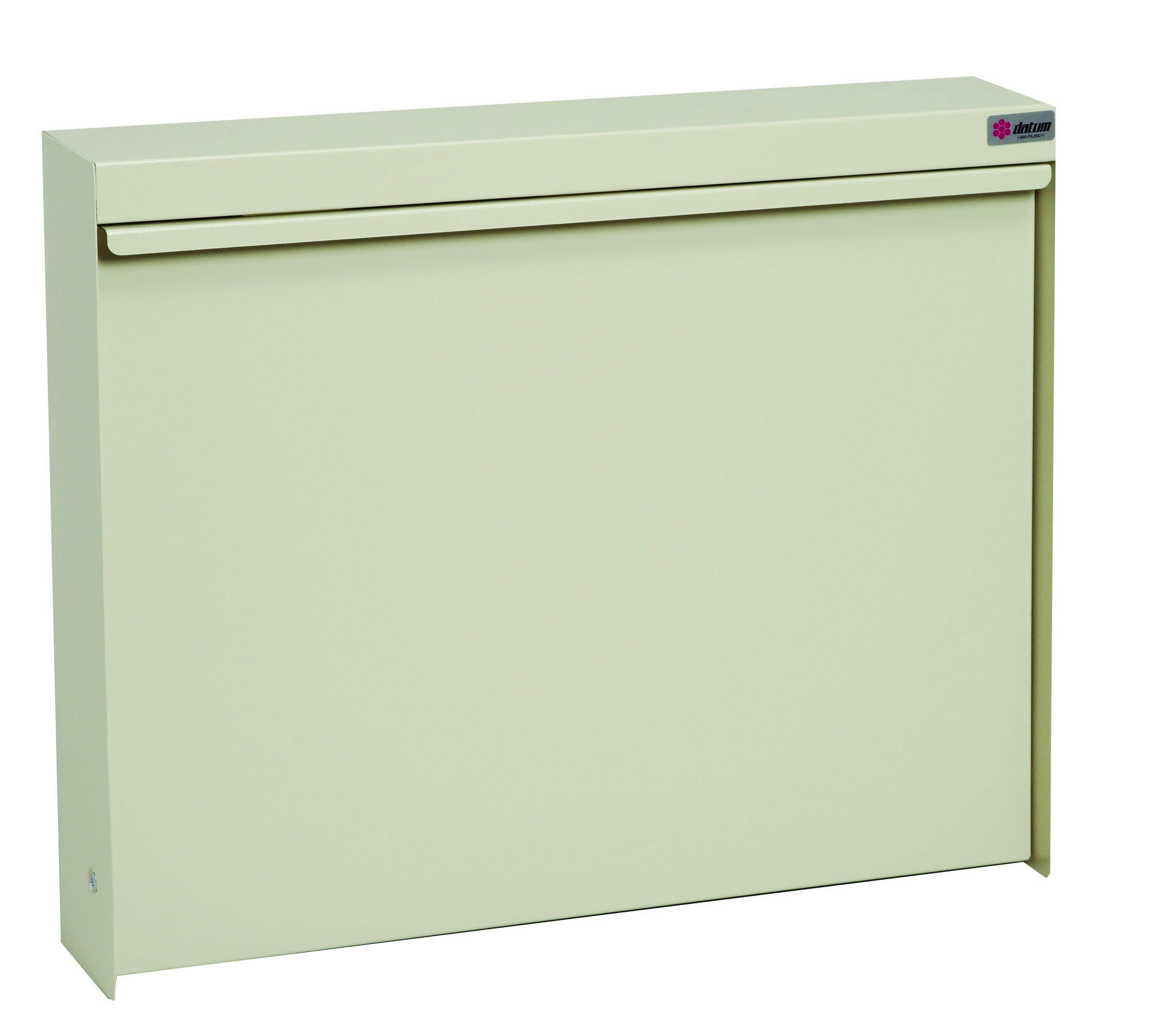 Datum Storage WW-101-T15 WallWrite Fold up Desk With Standard and Non-Locking, Bone White