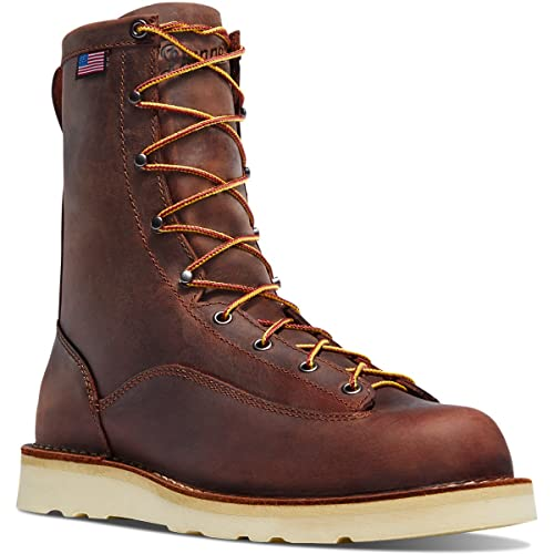 94b03a6b898 Danner Men's Bull Run 8-Inch BRN Cristy Work Boot