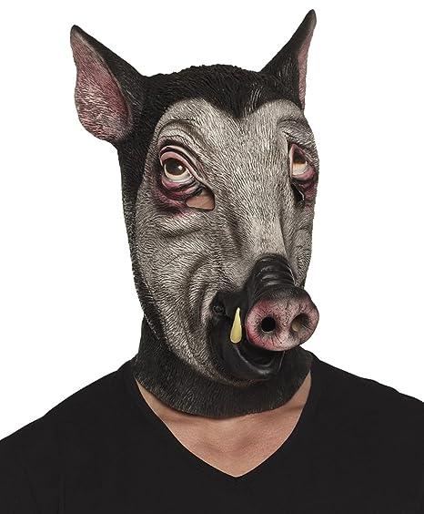 Boland 00158 Máscara de látex, jabalí, One size