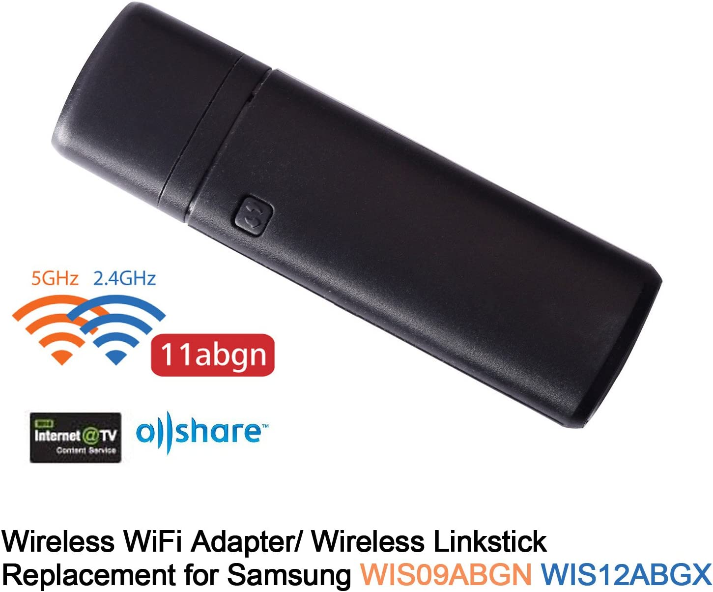 KR-NET - Adaptador de Red inalámbrico USB WiFi Dongle de Repuesto para Samsung Smart TV Linkstick WIS09ABGNX WIS12ABGNX: Amazon.es: Electrónica
