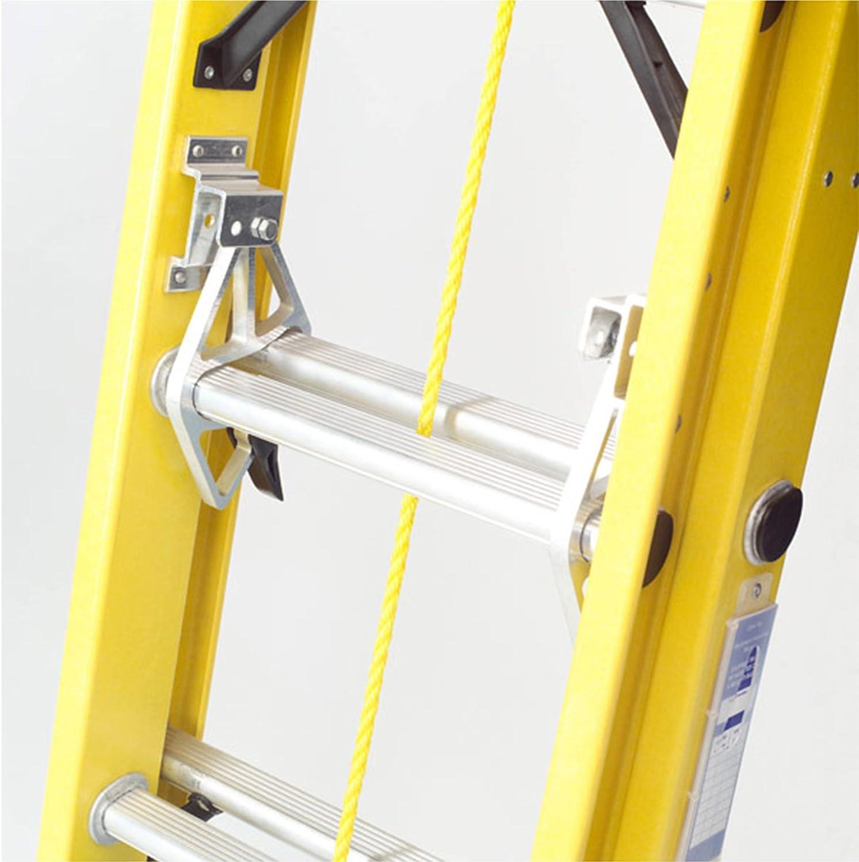 TB Davies Trade 2,6 m (259,99 cm) Doble de electricista de fibra de vidrio de extensión Rebecca hose - Non-Meseta para las | Con cuerda | INC. Articulado pies de seguridad: Amazon.es: